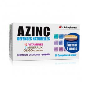 ARKOPHARMA Azinc défenses naturelles 30 comprimés à avaler