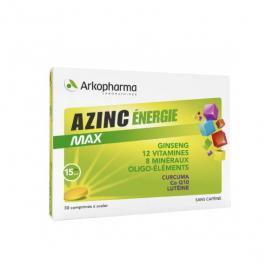 ARKOPHARMA Azinc energie max 30 comprimés à avaler