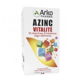 Azinc forme et vitalité adultes 120 gélules