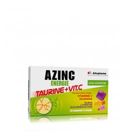 ARKOPHARMA Azinc energie taurine vitamine c 30 comprimés à croquer
