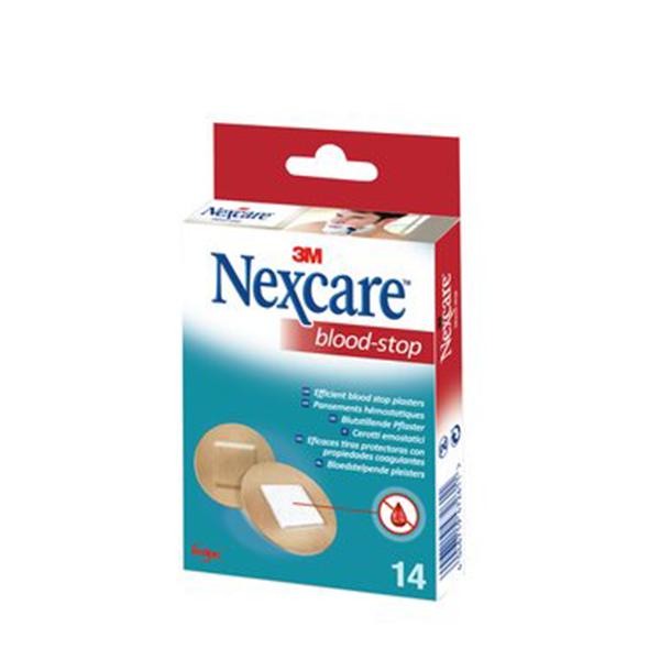 3M SANTE Nexcare blood stop 14 pansements ronds