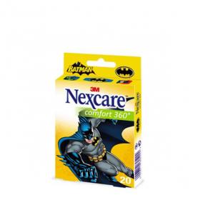 Nexcare comfort protection 360° 20 pansements batman