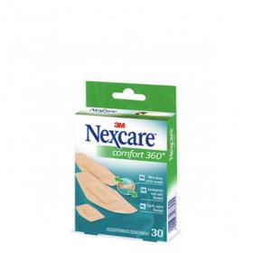 3M SANTE Nexcare comfort protection 360° 30 pansements