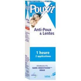 POUXIT Bleu lotion anti-poux 100ml