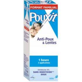 POUXIT Bleu lotion anti-poux 250ml