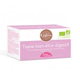 GIFRER Tisane bien-être digestif 20 sachets