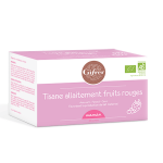 Tisane allaitement fruits rouges