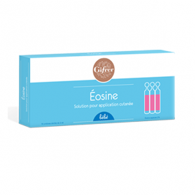 GIFRER Eosine aqueuse 2ml 10 unidoses