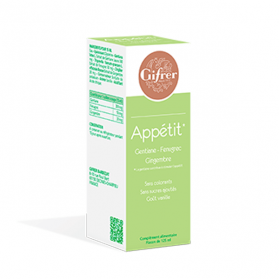 Solution buvable appétit 125ml