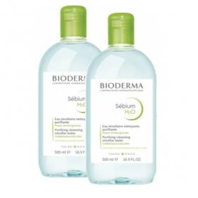 BIODERMA Sebium h2o 2x500ml