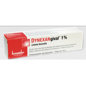 Dynexangival 1%, crème buccale 10g