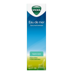 VICKS Spray nasal isotonique eau de mer 100ml