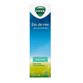 Spray nasal isotonique eau de mer 100ml