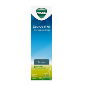 Spray nasal hypertonique eau de mer 100ml
