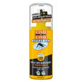 CINQ SUR CINQ Spray anti-moustique UV spf 20 75ml
