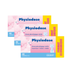 GILBERT Physiodose sérum physiologique lot de 3 boîtes de 40x5ml