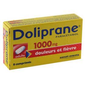 DOLIPRANE 1000mg 8 comprimés