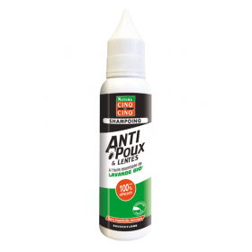 Natura shampooing anti-poux et lentes lavande bio 100ml