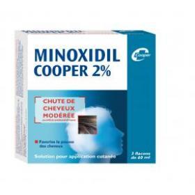 COOPER Minoxidil 2% 60ml 3 flacons