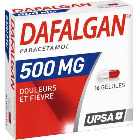DAFALGAN 500mg 16 gélules