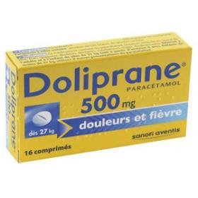 DOLIPRANE 500mg 16 comprimés