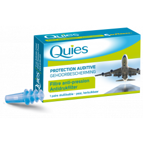 QUIES Protection auditive avion adulte 1 paire