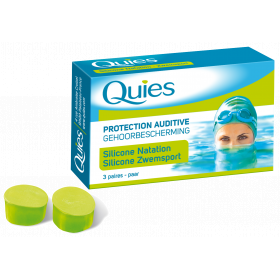 QUIES Protection auditive baignade adulte 3 paires