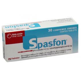 CEPHALON Spasfon 30 comprimés enrobés