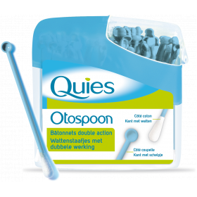 QUIES Otospoon double action 100 bâtonnets ouatés