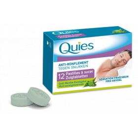 Anti-ronflement menthe eucalyptus 12 pastilles à sucer