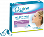 QUIES Anti-ronflement grandes bandelettes nasales x24