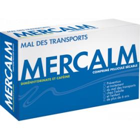 Mercalm 15 comprimés pelliculés sécables