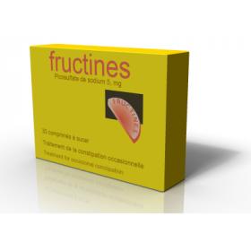 Fructines au picosulfate de sodium 5mg 30 comprimés à sucer