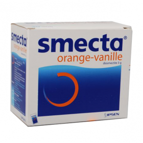 Smecta orange-vanille poudre 30 sachets