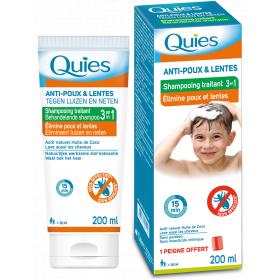 QUIES Shampooing traitant anti-poux 3en1 200ml