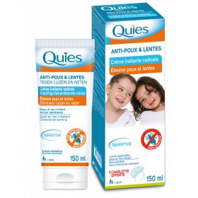 QUIES Crème anti-poux traitante radicale 150ml
