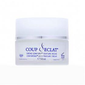 Coup d'éclat crème confort+ texture riche 50ml