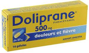 doliprane 500mg 16 g lules m dicaments pharmarket. Black Bedroom Furniture Sets. Home Design Ideas