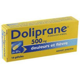 DOLIPRANE 500mg 16 gélules