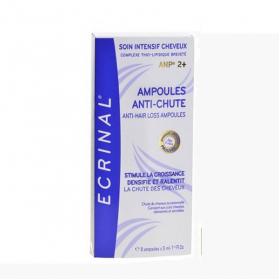 ASEPTA Ecrinal cheveux 8 ampoules anti-chute 5ml