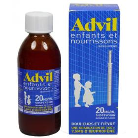 Advil enfants et nourrissons 20mg/1ml suspension 200ml