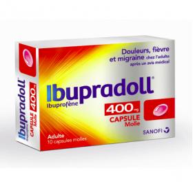 Ibupradoll caps 400mg 10 capsules molles