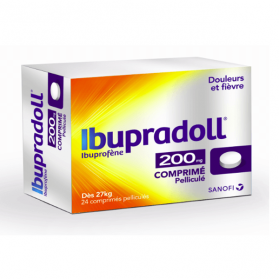 SANOFI Ibupradoll tabs 200mg 24 comprimés