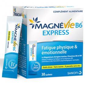 Magnévie B6 express 30 sachets