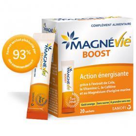 SANOFI Magnévie boost 20 sachets