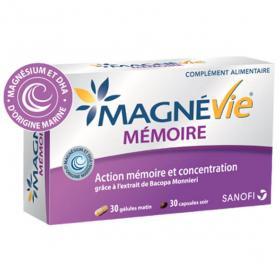 Magnévie mémoire 60 gélules