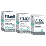 ETIAXIL Détranspirant aisselles peau sensible bille lot 3x15ml