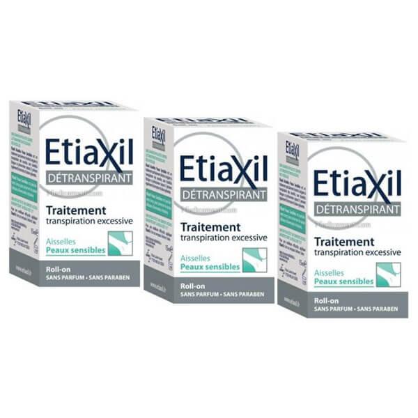 etiaxil d transpirant aisselles peau sensible bille lot 3x15ml parapharmacie pharmarket. Black Bedroom Furniture Sets. Home Design Ideas