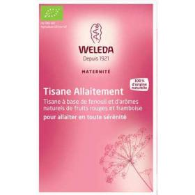 WELEDA Tisane allaitement fruits rouges et fenouil 20 sachets