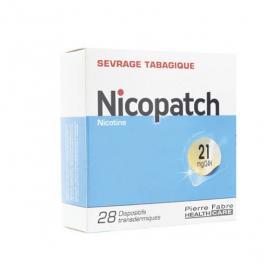 NICOPATCH Nicopatchlib 21mg/24h 28 patchs